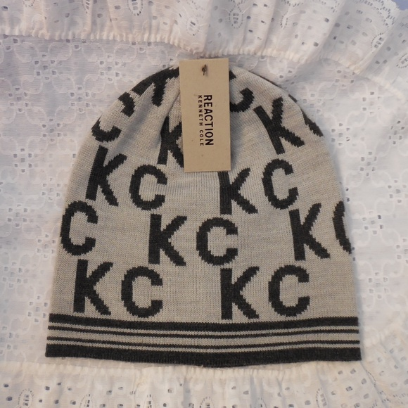 NWT! Reaction Kenneth Cole Womans Beanie Hat NWT 81abf1f7a3a